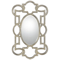 Diana 48 X 26 inch Silver Mirror Home Decor