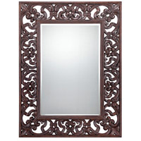 Savoy House Lighting Kiara Mirror in Bronze 4-DWCRSF05023