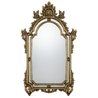 Sofia 56 X 33 inch Gold Mirror Home Decor