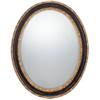 Reese 36 X 28 inch Dark Bronze with Gold Accents Mirror Home Decor