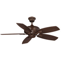 Wind Star 42 inch Espresso with Walnut/Chestnut Blades Ceiling Fan