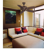 Savoy House 42-830-5RV-129 Wind Star 42 inch Espresso with Walnut/Chestnut Blades Ceiling Fan alternative photo thumbnail