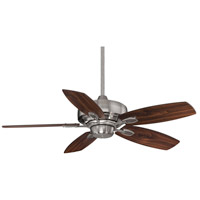 Savoy House 42-830-5RV-187 Wind Star 42 inch Brushed Pewter with Walnut/Chestnut Blades Ceiling Fan alternative photo thumbnail