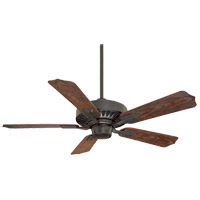 Lancer II 43 inch English Bronze with Walnut Blades Outdoor Ceiling Fan