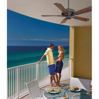 Savoy House Lancer II Outdoor Ceiling Fan in English Bronze 43-925-5WA-13 alternative photo thumbnail