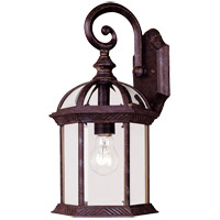 Kensington 1 Light 16 inch Rustic Bronze Outdoor Wall Lantern