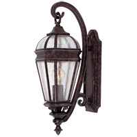 Savoy House Via Vete 1 Light Outdoor Wall Lantern in New Tortoise Shell w/ Silver 5-105-8