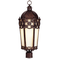 Savoy House Loire Valley Torino Energy Star Post Lantern in New Tortoise Shell w/Silver 5-1063-ES-8 photo thumbnail