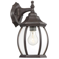 Savoy House 5-1090N-72 Exterior Collections 1 Light 13 inch Rustic Bronze Outdoor Wall Lantern