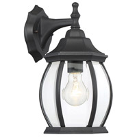 Savoy House 5-1090N-BK Exterior Collections 1 Light 13 inch Black Outdoor Wall Lantern
