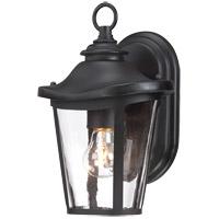 Savoy House Freemont 1 Light Outdoor Wall Lantern in Black 5-1140-BK