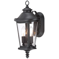 Savoy House Freemont 2 Light Outdoor Wall Lantern in Black 5-1141-BK