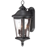 Savoy House Freemont 2 Light Outdoor Wall Lantern in Black 5-1142-BK photo thumbnail