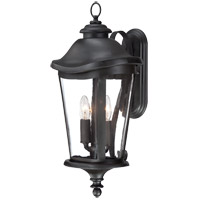 Savoy House Freemont 2 Light Outdoor Wall Lantern in Black 5-1143-BK