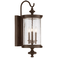 Savoy House Palmer 3 Light Outdoor Wall Lantern in Walnut Patina 5-1221-40