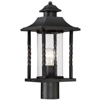 Savoy House 5-1233-BK Dorado 1 Light 18 inch Black Outdoor Post Lantern alternative photo thumbnail