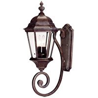 Wakefield 2 Light 25 inch Walnut Patina Outdoor Wall Lantern