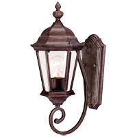 Wakefield 1 Light 20 inch Walnut Patina Outdoor Wall Lantern