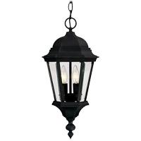 Savoy House Wakefield 2 Light Outdoor Hanging Lantern in Textured Black 5-1303-BK photo thumbnail