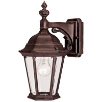 Wakefield 1 Light 16 inch Walnut Patina Outdoor Wall Lantern
