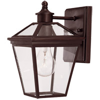 Savoy House Ellijay 1 Light Outdoor Wall Lantern in English Bronze 5-140-13