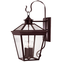 Ellijay 4 Light 26 inch English Bronze Outdoor Wall Lantern