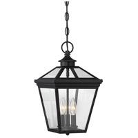 Savoy House 5 146 BK Ellijay 3 Light 9 Inch Black Outdoor Hanging Lantern