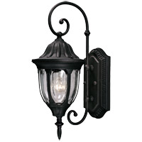 Savoy House Tudor 1 Light Outdoor Wall Lantern in Textured Black 5-1500-BK
