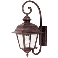 Savoy House Westover 1 Light Outdoor Wall Lantern in Walnut Patina 5-1601-40
