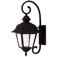 Westover 1 Light 20 inch Black Outdoor Wall Lantern