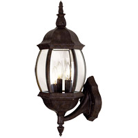 Savoy House Exterior Collections 3 Light Outdoor Wall Lantern in Rustic Bronze 5-1651-72 photo thumbnail