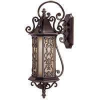 Savoy House Forsyth 1 Light Outdoor Wall Lantern in Como Black w/ Gold 5-190-62