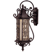 Savoy House Forsyth 6 Light Outdoor Wall Lantern in Como Black w/ Gold 5-191-62