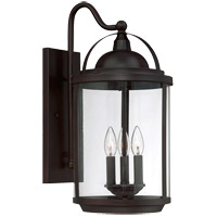 Savoy House Drayton 3 Light Outdoor Wall Lantern in English Bronze 5-202-3-13 photo thumbnail