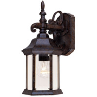 Savoy House Exterior Collections 1 Light Outdoor Wall Lantern in Rustic Bronze 5-2090-72