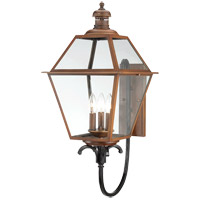 Savoy House Montgomery 3 Light Outdoor Wall Lantern in Aged Copper 5-2110-153 photo thumbnail