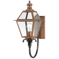 Savoy House Montgomery 1 Light Outdoor Wall Lantern in Aged Copper 5-2112-153