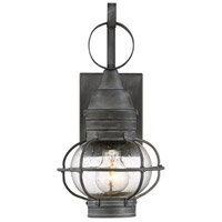 Savoy House 5-220-88 Enfield 1 Light 15 inch Oxidized Black Outdoor Wall Lantern