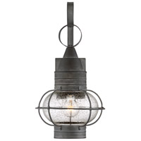 Savoy House 5-221-88 Enfield 1 Light 18 inch Oxidized Black Outdoor Wall Lantern