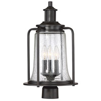 Tacoma 3 Light 20 inch English Bronze Outdoor Post Lantern