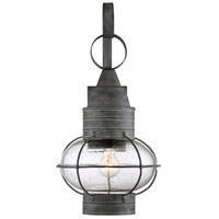Savoy House 5-222-88 Enfield 1 Light 22 inch Oxidized Black Outdoor Wall Lantern