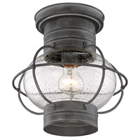 Savoy House 5-224-88 Enfield 1 Light 10 inch Oxidized Black Outdoor Flush Mount alternative photo thumbnail