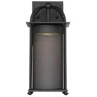 Savoy House 5-230-BK Sierra LED 12 inch Black Outdoor Wall Lantern