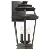 Savoy House 5-23002-141 Holbrook 3 Light 18 inch Textured Bronze/Gold Highlights Outdoor Wall Lantern Large