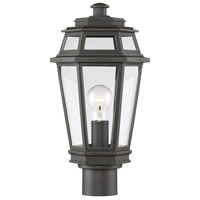 Savoy House 5-23004-141 Holbrook 1 Light 17 inch Textured Bronze with Gold Highlights Outdoor Post Lantern