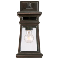 Taylor 1 Light 14 inch English Bronze with Gold Outdoor Wall Lantern