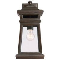 Savoy House 5-241-213 Taylor 1 Light 16 inch English Bronze with Gold Outdoor Wall Lantern