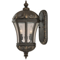 Ponce de Leon 3 Light 20 inch Old Tuscan Outdoor Wall Lantern