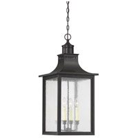 Monte Grande 4 Light 13 inch Slate Outdoor Hanging Lantern
