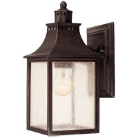 Monte Grande 1 Light 12 inch English Bronze Outdoor Wall Lantern